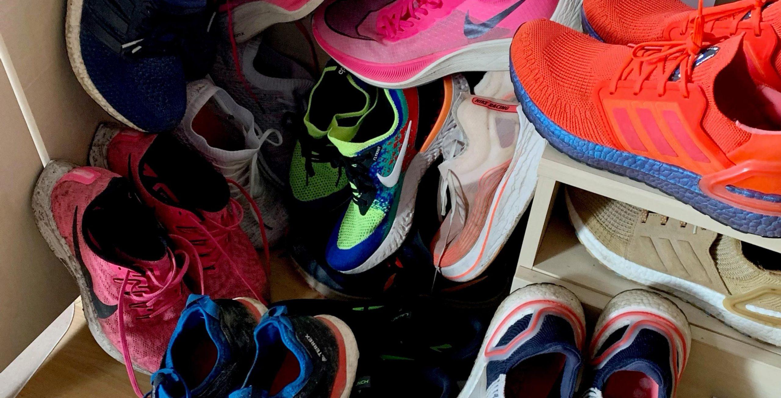 """Wie viele Laufschuhe ,,braucht"""" ein Läufer?"""